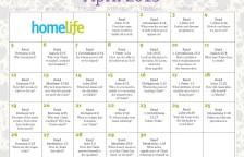 HomeLife April 2015 Family Calendar