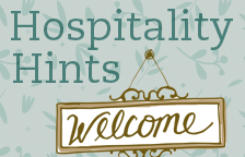 Hospitality Hints | Ways to Love New Moms