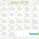 June Family Time Calendar and Scripture Art