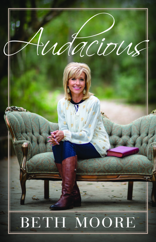 Beth Moore's New Book & Simulcast Theme | Audacious