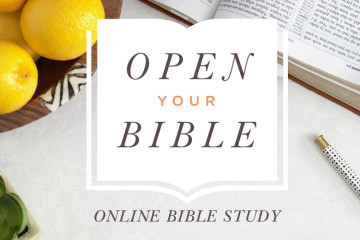 Open Your Bible Online Bible Study | Sign Up!