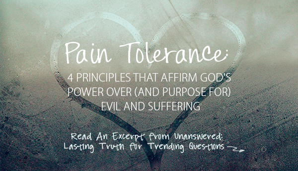 Pain Tolerance | Excerpt from Unanswered