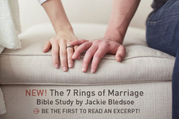 NEW! The 7 Rings of Marriage Bible Study | Read an Excerpt