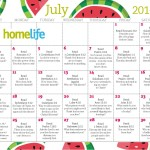 HomeLife Family Time Calendar | July 2016