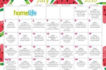 HomeLife Family Time Calendar | July 2016