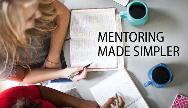 Mentoring Made Simpler