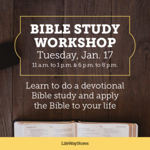 Bible Study Workshop | A National In-Store Event - LifeWay ...