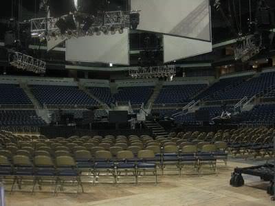 It's empty now…