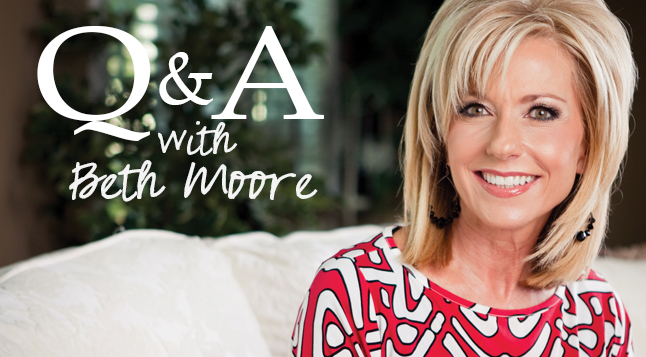 Qa with beth moore part 3 lifeway women all access because its the 20th anniversary of lifeway womens partnership with beth moore we thought it would be a great opportunity to ask her some questions voltagebd Choice Image