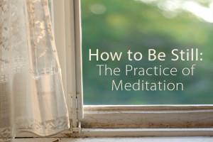 meditate words