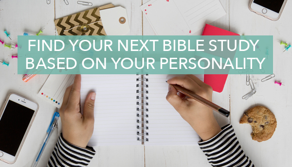 Your Next Bible Study Based on Your Myers-Briggs Personality