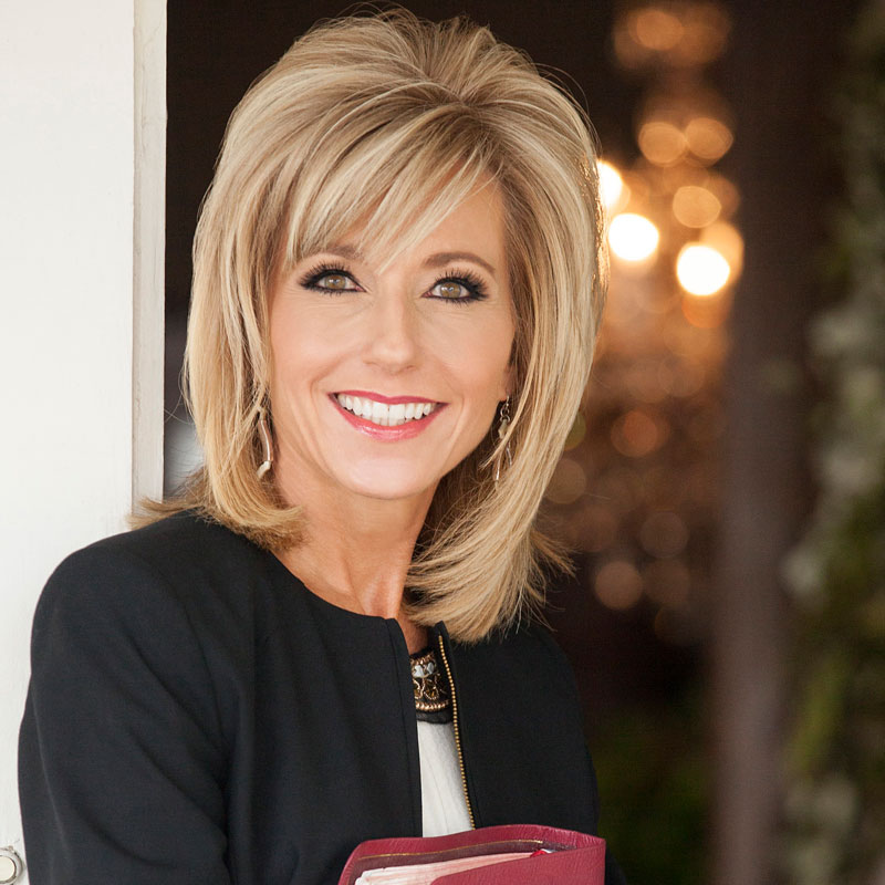 Dedicated to biblical literacy and the founder of Living Proof ministry, Beth Moore's popular video-based DVD Bible Studies are top sellers. Her studies include her Bible lessons on DVD, Leader Kits, and member books for personal study 5 days a week.